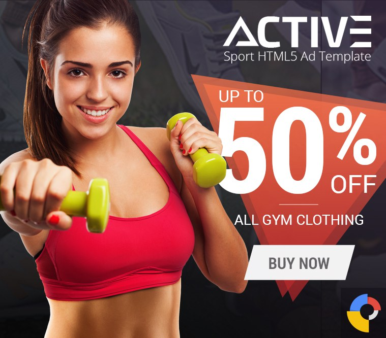 Active Sport HTML5 Ad Template