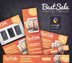 BestSale - HTML5 Promotional Banner Template