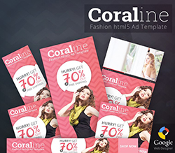 Coraline - Fashion HTML5 Ad Template