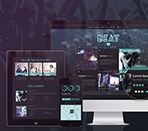 Beat Onepage HTML5 Music & Band Template Thumbnail