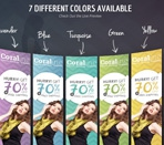 Seven different colors available Thumbnail