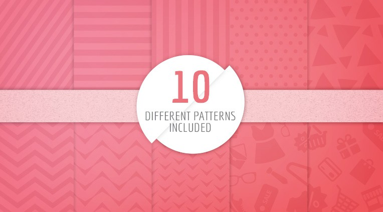 10 patterns included