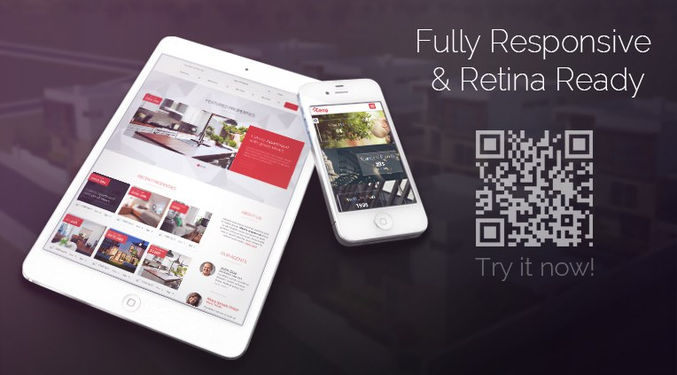 Fully Responsive and Retina Ready