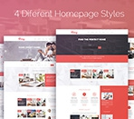 4 completely different homepage styles Thumbnail