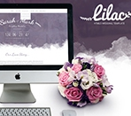 Lilac Responsive Onepage HTML5 Wedding Template Thumbnail