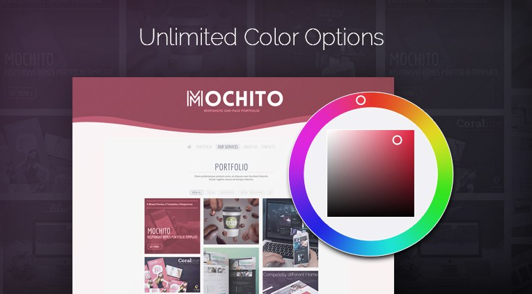 Unlimited color options