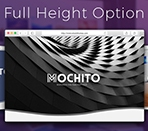 Full height hero option Thumbnail