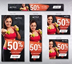 Active – Sport HTML5 Ad Template Thumbnail