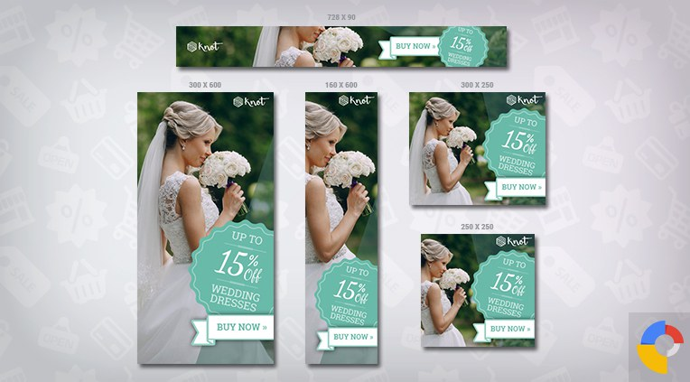 Knot – Wedding HTML5 Ad Template