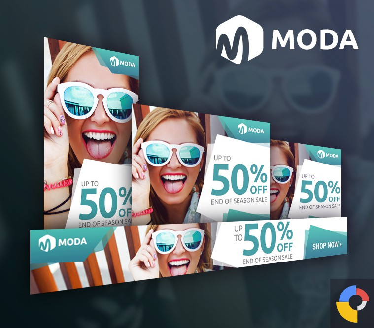 Moda Fashion HTML5 Ad Template