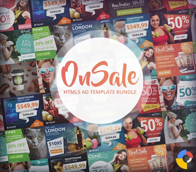 OnSale HTML5 Ad Template Bundle