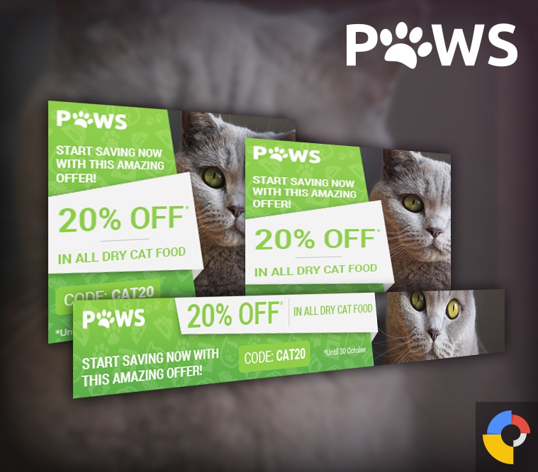 Paws Pet Store HTML5 Ad Template