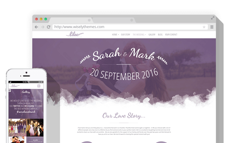Lilac WordPress Theme