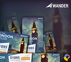 Wander - Travel HTML5 Ad Template