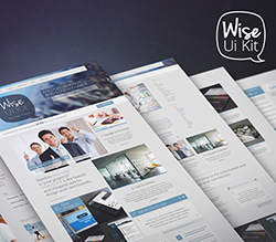 Wise PSD Ui Kit